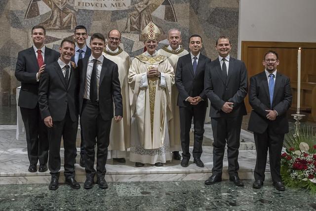 Ammissioni agli Ordini Sacri 2019