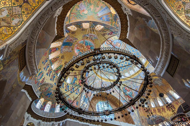 Купола Морского Никольского собора, Кронштадт