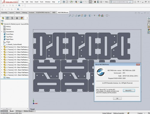 Working with Geometric NestingWorks 2020 SP0 full license