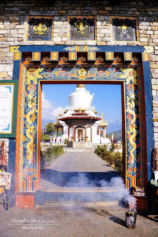 Bhutan Day 2 - Thimphu Memorial Chorten 3