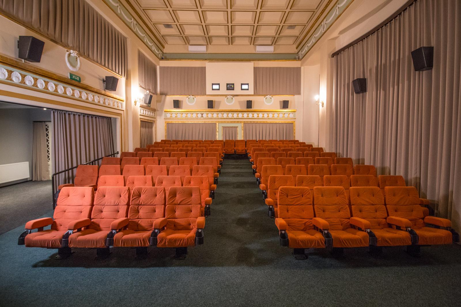 Ilyen lett a felújított Belvárosi Mozi