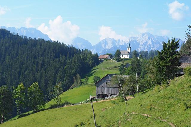 Panoramic Road, Logarska Dolina, Slovenia