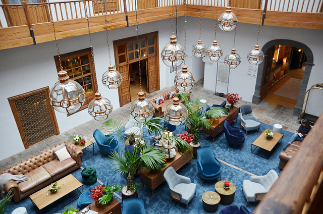 Lounge, La Laguna Gran Hotel, La Laguna, Tenerife