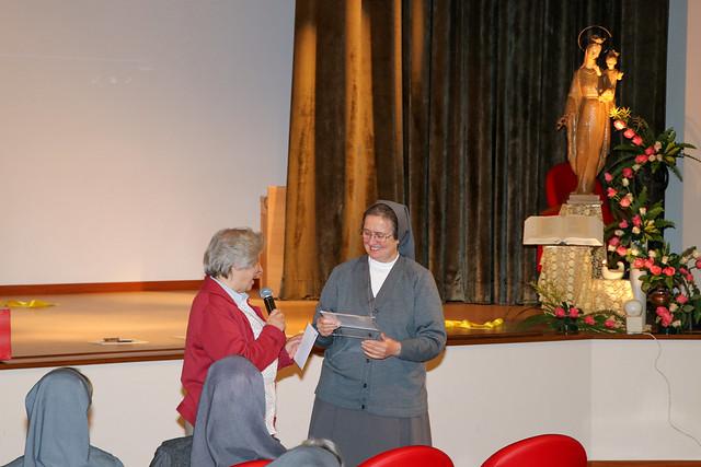 """Visita Canonica di Suor Chiara Cazzuola alla Visitatoria """"Maria Madre della Chiesa"""" (RMC). 14 ottobre - 24 novembre 2019."""