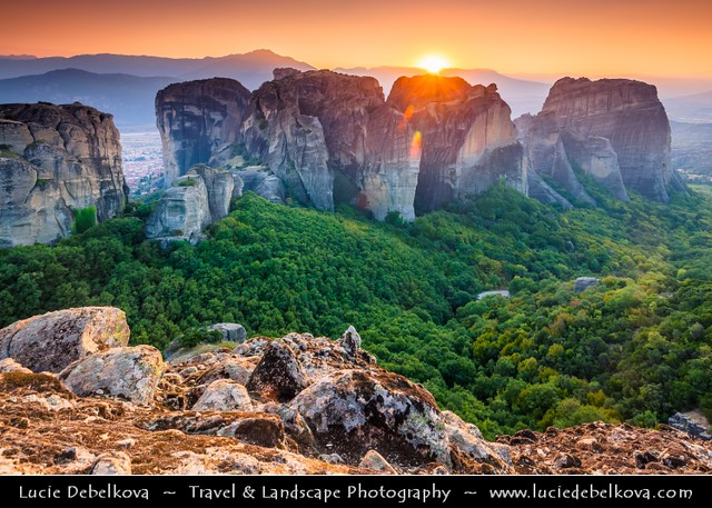 Greece - Metéora - UNESCO World Heritage Site - Magical Sunset