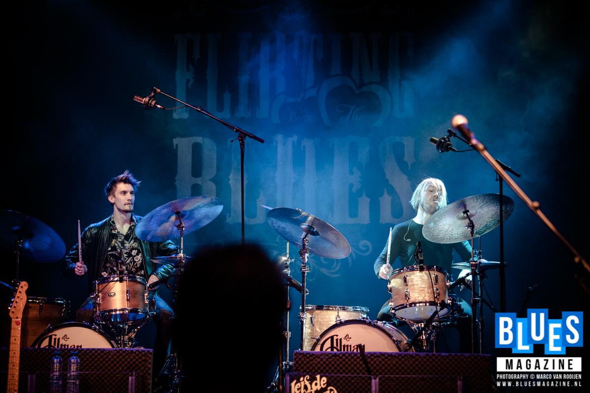 Leif de Leeuw Band @ Flirting with the Blues 2019