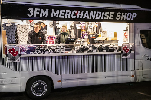 3FM Merchandise shop Kruiningen