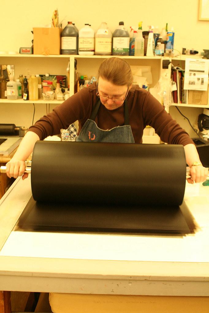 large black roller