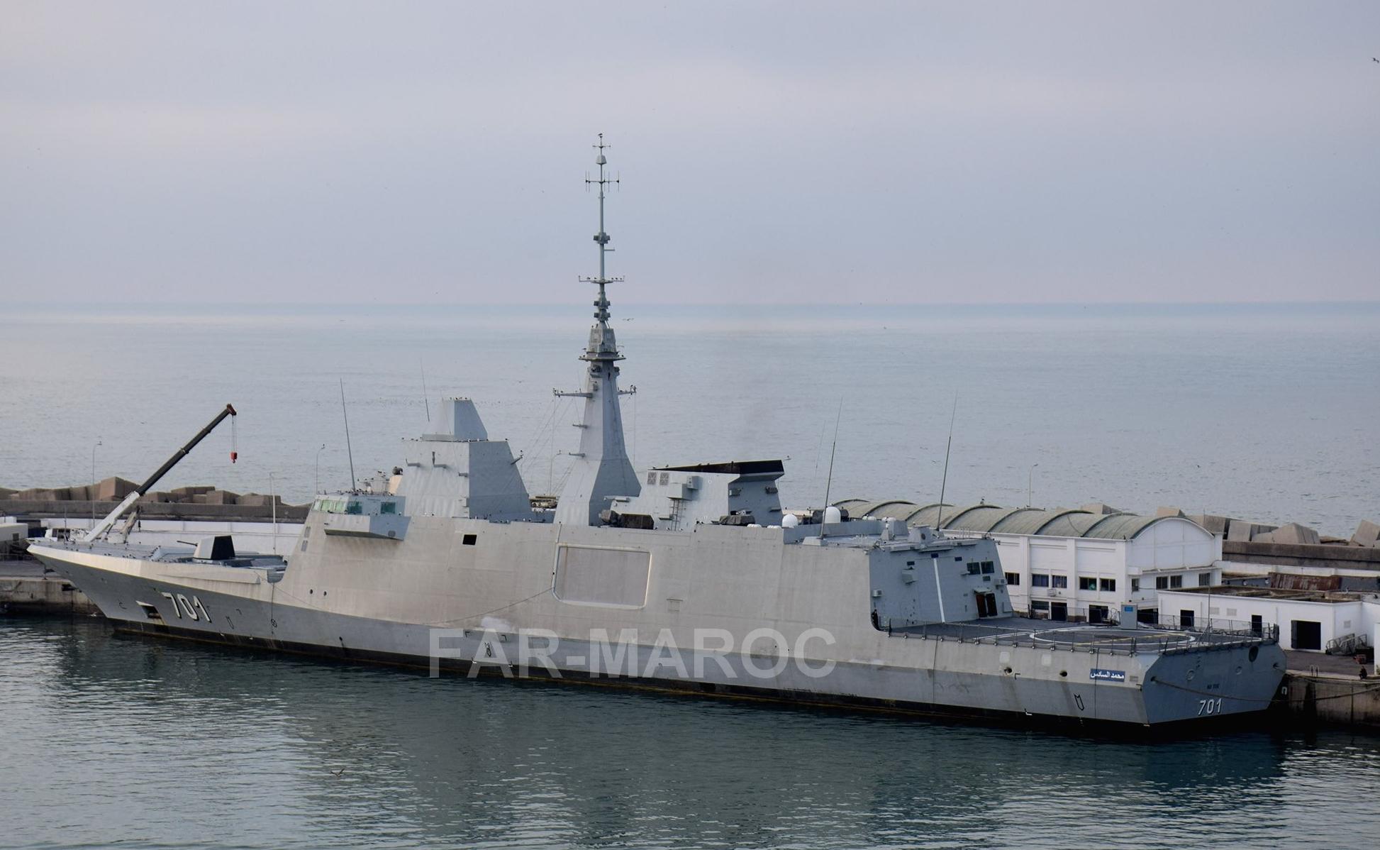 Royal Moroccan Navy FREMM Frigate / FREMM Marocaine - Mohammed VI - Page 13 49239127187_782675623d_o