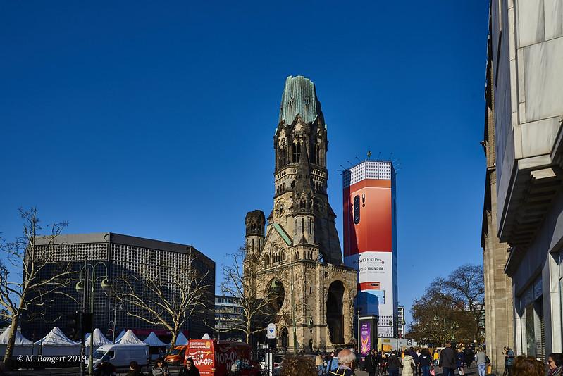 Kaiser-Wilhelm-Gedächtniskirche, Kurfürstendamm, Berlin