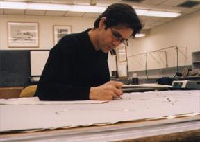 John Phillips drawing