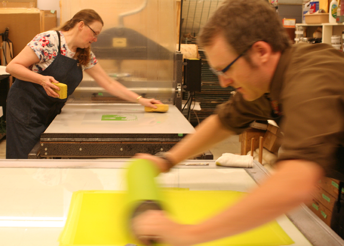 proofing the yellow plate