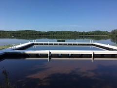 Camp Dock with Swim Area