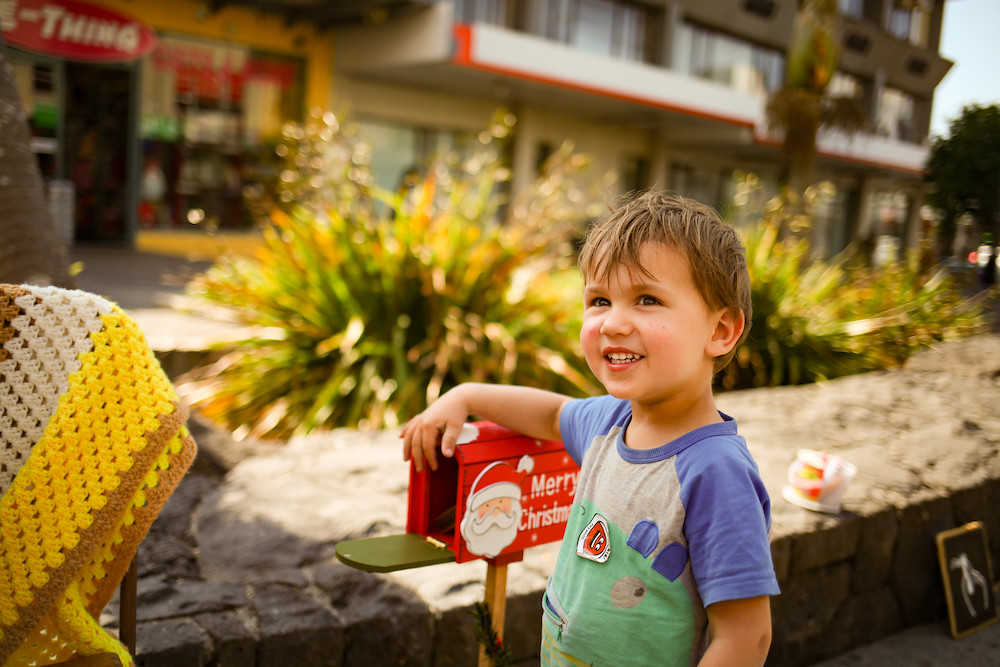 Letter to a stranger Christmas campaign Auckland