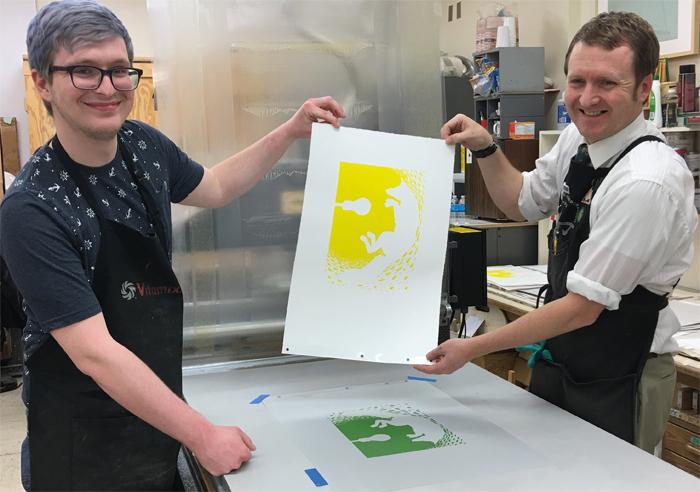printing yellow run