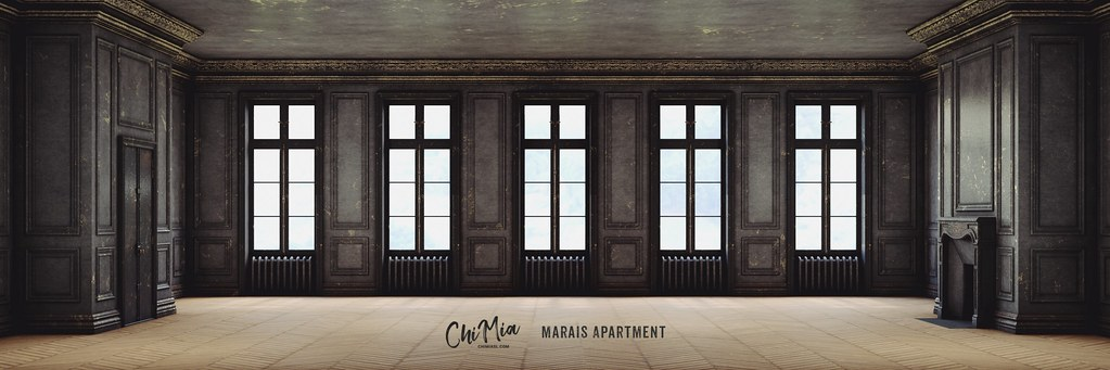 Marais Apartment Gilded Black by ChiMia