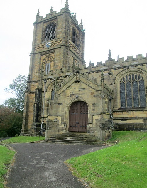St Mary's Church, Mold, Wales