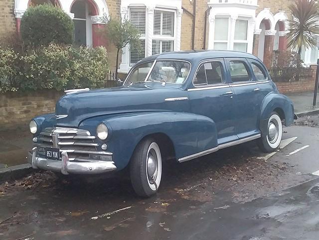 1948 Chevrolet Fleetliner - 853 YUK @ Charlton