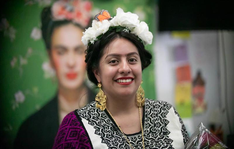 Brenda Bravo as Frida Kahlo