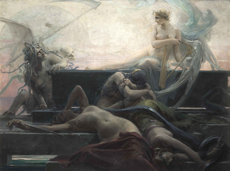 Maximilian Pirner - Finis (The End of All Things) 1887