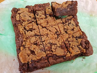 Gooey Peanut Butter Cream Ceeze and Chocolate Chip Brownies