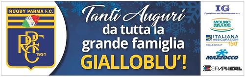 Gazzetta di Parma 18.12.19 - piede auguri