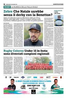 Gazzetta di Parma 18.12.19 - pag 58