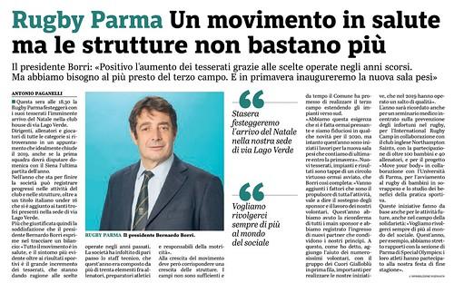 Gazzetta di Parma 18.12.19 - bilancio 2019