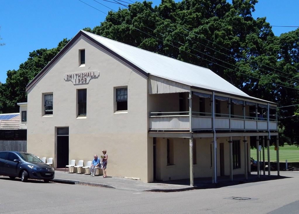 Smiths Hall, Rozelle, Sydney, NSW.