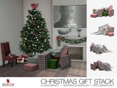 FREE Gift! - Christmas Gift Stack @ Bad Unicorn Mainstore
