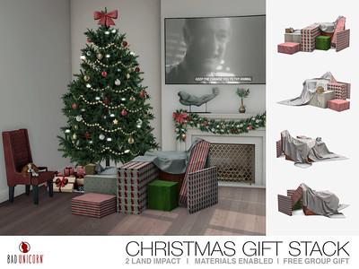 FREE Gift! - Christmas Gift Stack @ Bad Unicorn Mainstore