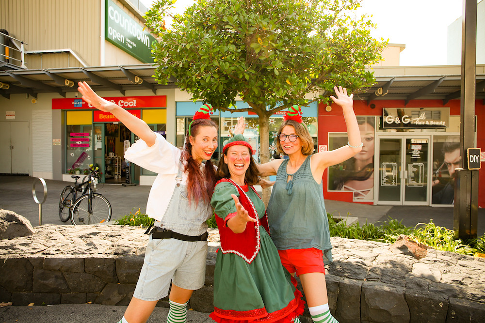 dressed up elfs auckland