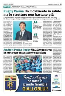 Gazzetta di Parma 18.12.19 - pag 59