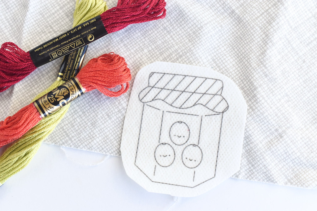 December Jam of the Month Club Embroidery Pattern