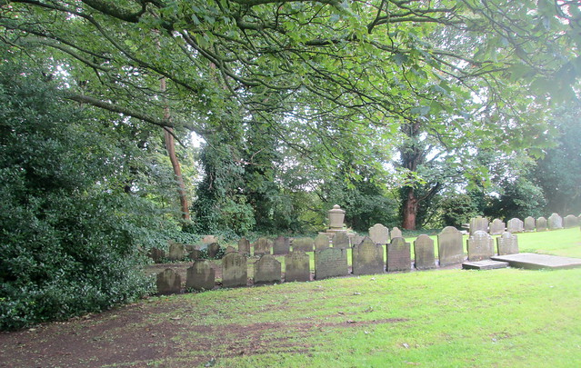 St Mary's churchyard . Mold, Wales