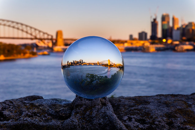 Sydney in a Sphere