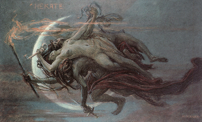 Maximilian Pirner - Hekate (Hecate), 1901