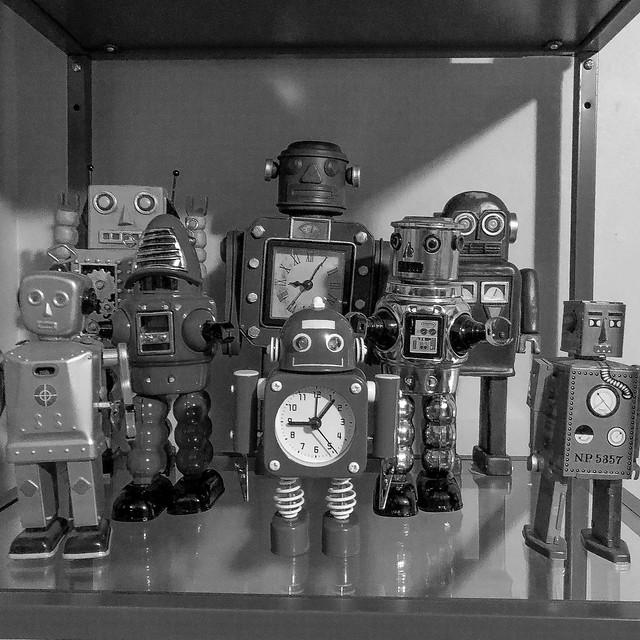 Robots are the future