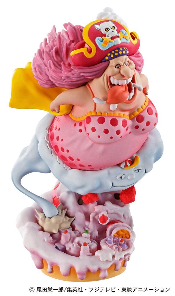 經典場景以掌中尺寸復活! MegaHouse LOGBOX RE BIRTH 系列《ONE PIECE》蛋糕島篇 ホールケーキアイランド編