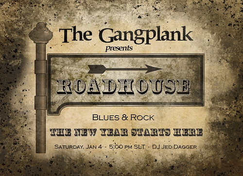 Roadhouse party at The Gangplank