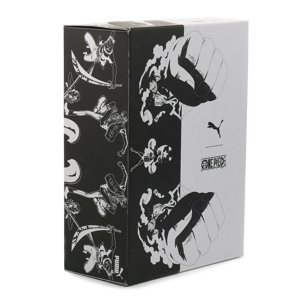 夜光骷髏煞氣登場!PUMA X 《航海王 ONE PIECE 》第3彈 聯名鞋款「GOOD & EVIL」(LQD CELL スニーカー)