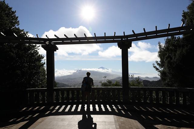 Staring at Teide. Mirador Cruz del Carmen. Tenerife. AA8A5447