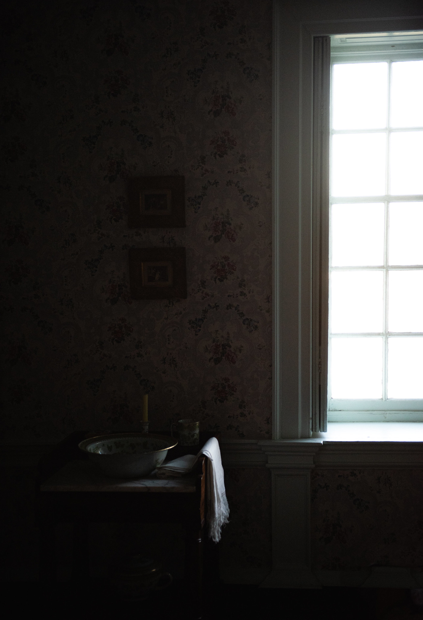 Afternoon Light in an Unfamilliar House