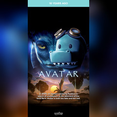 Timehop: Avatar (2009 film) (12/18/19) #timehop #abe #20thcenturyfox #jamescameron #jamescameronavatar #avatar #avatarfilm #epic #sciencefictionfilm