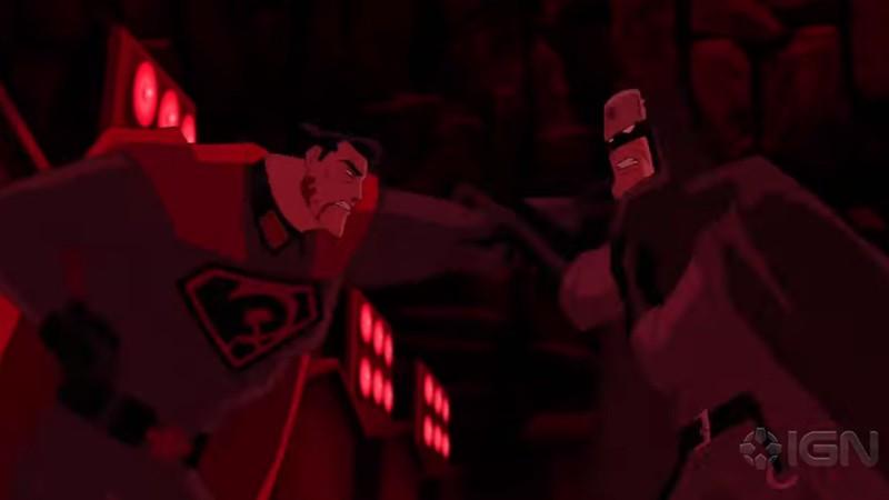 Superman Red Son - Batman vs Superman