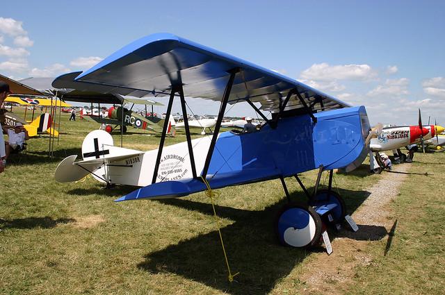 FOKKER D.7 Replica N183BR KOSH 20072004 PBQ