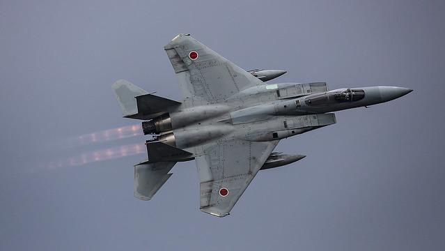 32-8827, McDonnell Dougla F-15J Japan Air Self Defence Forces @ Hyakuri IBR RJAH
