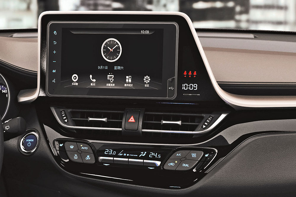 TOYOTA Drive+  Connect智聯車載系統