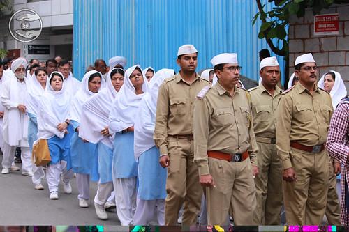 Sewa Dal Led the Procession