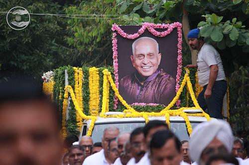 Last Journey of Rev. D.R. Bajaj Ji
